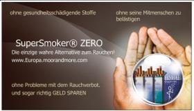 Foto 3 Giftstoffe in der Zigarette - oder SuperSmoker - die deutsche E-Zigarette mit echtem Papierfilter
