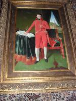 Gigantisches Ölgemälde, Napoleon als Konsul, gemalt v. ASHLEY: