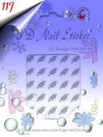 Foto 8 Glänzende Silber Sticker in verschiedenen Formen um 0.30€