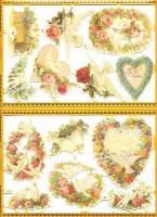 Foto 2 Glanzbilder zum Sammlen und Basteln, MLP Golden Series