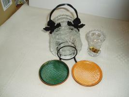 Foto 6 Glas-Ceramic-Deko-Puppen-Chromargan usw.