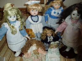 Foto 11 Glas-Ceramic-Deko-Puppen-Chromargan usw.