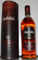 Glenfiddich 15 Jahre, Solera, Single Malt Scotch Whisky (1000ml Flasche)