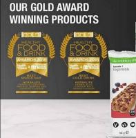Gold Award 2018 Healthy food & drink