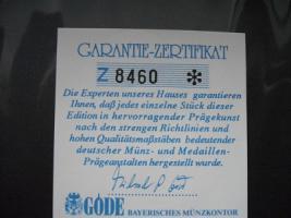 Foto 4 Gold Münze '' Einigkeit und Recht und Freiheit ''