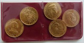 Foto 7 Goldmünzensammlung