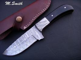 Good deal of damascus knives