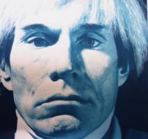 Foto 2 Gottfried Helnwein ( geb. 1948 Oesterreich ) Portrait of Andy Warhol.