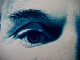 Foto 5 Gottfried Helnwein ( geb. 1948 Oesterreich ) Portrait of Andy Warhol.