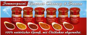 Gourmet Chatneys und Saucen