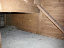 Foto 4 Gr. Kleintierstall aus Holz mit integrierten Auslauf (Trixi Natura)