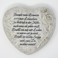 Geschenk Stein mit Spruch