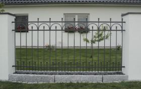 Foto 2 ''Graz'' - Metallzäune für Jahrzehnte. Verzinkte Zäune aus Metall. Qualität aus Polen.