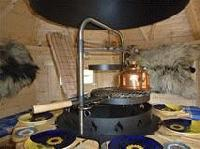 Foto 3 Grillkota, Grillkotas, Grillkota günstig, Grillpavillon, nordische Grillkota Typ NH 9,2  4.499,00 €
