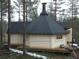 Foto 10 Grillkota, Grillkotas, Grillkota günstig, Grillpavillon, nordische Grillkota Typ NH 9,2  4.499,00 €