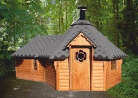 Foto 13 Grillkota, Grillkotas, Grillkota günstig, Grillpavillon, nordische Grillkota Typ NH 9,2  4.499,00 €
