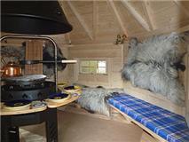 Foto 5 Grillkota, nordische Grillkota NH 6,9 - NH 16,5, Saunakota, Fasssauna, Grillpavillon, Gartensauna, Sauna