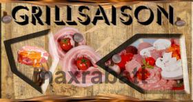 Foto 3 Grillsaison Logo und Druckvorlage
