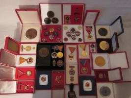 Große Orden - Auszeichnung - Abzeichen - Medaille - Sammlung - Konvolut