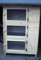Großer Kaninchenstall ideal für die Zucht NEU !!!