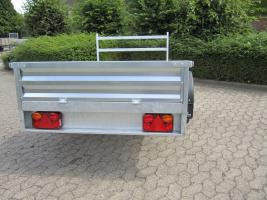Foto 5 Großer stabieler Stahlblech Anhänger 750kg ca. 250. x 125 x 30cm