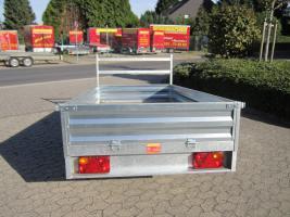 Foto 6 Großer stabieler Stahlblech Anhänger 750kg ca. 250. x 125 x 30cm