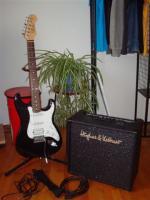 Günstiges E-Gitarrenset f. Anfänger