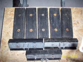 Gummilangauflage für Bootstrailer