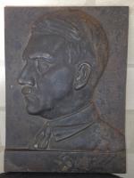 Gussplatte Adolf Hitler