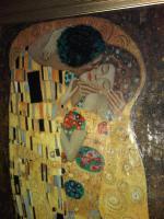 Foto 3 Gustaf Klimt Der Kuss 90x120cm ein Ölgemälde