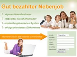 Gut bezahlter online Nebenjob