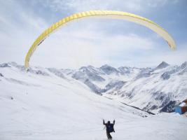 Gutschein für einen Tandemsprung Davos Schweiz