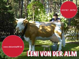 Foto 4 HALLO Mühlhausen - HALLO THÜRINGEN  - Deko Kuh lebensgross / unseres hauseigenes Modell - Liesel von der Alm oder unseres hauseigenes Holstein - Friesian Deko Kuh lebensgross - Modell oder ... www.dekomitpfiff.de / Tel. 033767 - 30750