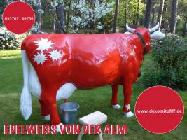 Foto 23 HALLO Mühlhausen - HALLO THÜRINGEN  - Deko Kuh lebensgross / unseres hauseigenes Modell - Liesel von der Alm oder unseres hauseigenes Holstein - Friesian Deko Kuh lebensgross - Modell oder ... www.dekomitpfiff.de / Tel. 033767 - 30750