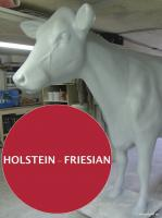 Foto 2 HALLO SASSNITZ … Sie möchten gern mal unser hauseigenes Holstein - Friesian Deko Kuh lebensgross - Modell in den unterschiedlichsten Ausführungen kennenlernen … www.dekomitpfiff.de / Tel. 033767 - 30750 / info@dekomitpfiff.de