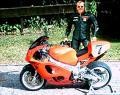 HANDGEMALDE MOTORRADBLDER