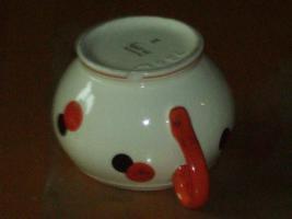 Foto 5 HARLEKIN Keramik Teeservice ''''Tee for two '''' ate Sammlerstücke