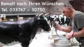 Foto 2 HAST SAGT DIR DAS WORT HOLSTEIN - RICHTIG  - HOLSTEIN _ FRIESIAN DEKO KUH - UND WILLST EINE ...
