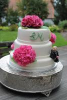 Foto 26 HAUSGEMACHT: Hochzeitstorten ganz individuell und geschmackvoll ! Nicht nur von außen !