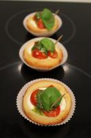 Foto 40 HAUSGEMACHT : Fingerfood, Amuse Gueule, Amuse -  Bouche, herzhafte Mini - Muffins mit Topping nach Wahl.......