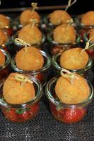 Foto 43 HAUSGEMACHT : Fingerfood, Amuse Gueule, Amuse -  Bouche, herzhafte Mini - Muffins mit Topping nach Wahl.......