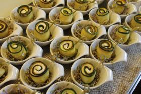 Foto 49 HAUSGEMACHT : Fingerfood, Amuse Gueule, Amuse -  Bouche, herzhafte Mini - Muffins mit Topping nach Wahl.......