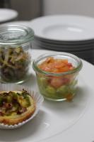 Foto 63 HAUSGEMACHT : Fingerfood, Amuse Gueule, Amuse -  Bouche, herzhafte Mini - Muffins mit Topping nach Wahl.......