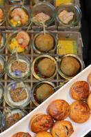 Foto 67 HAUSGEMACHT : Fingerfood, Amuse Gueule, Amuse -  Bouche, herzhafte Mini - Muffins mit Topping nach Wahl.......