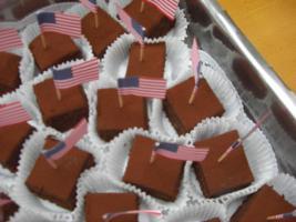 Brownies mit Ganache