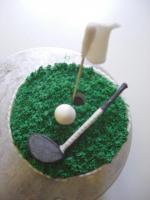 XXL Cupcake für Golfer