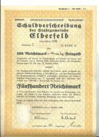 HISTORISCHE WERTPAPIERE ELBERFELD 500RM