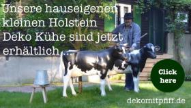 Foto 3 HOLSTEIN …. JA UND NUN … BESTELL DIR NE DEKO KUH ...