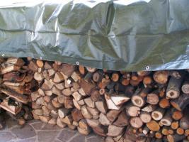 HOLZABDECKPLANEN - Kaminholz Brennholz Schutz - alle Planen versandfertig