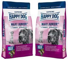 HUNDEFUTTER Happy Dog Maxi Junior Gr. 23 2 x 15 kg